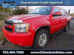 chevrolet suburban red used chevrolet for sale in crystal mn cities auto sales and finance