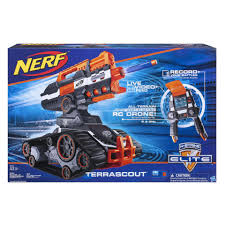 nerf n strike elite terrascout remote control drone blaster toys