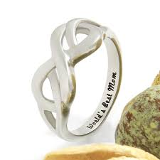 mothers infinity ring mothers ring hearts infinity ring promise ring worlds