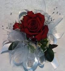 Red Rose Wrist Corsage Single Rose Wrist Corsage U2013 Johnson City U0026 Gray Florist