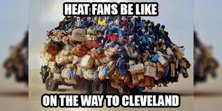 Heat Fans Meme - bandwagon fans anonymous do you root for an out of town team sbm