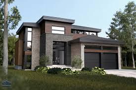 maison contemporaine avec garage 1e étage recherche google