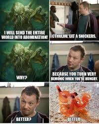Cthulhu Meme - random cthulhu memes cute spabbit