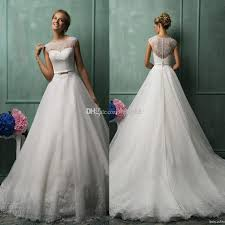 best wedding dresses of 2015 2014 amelia sposa best selling a line chapel white