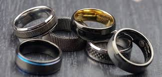 manly wedding bands unique wedding bands as impressive as you are kinkster mag
