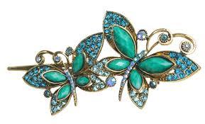 butterfly hair clip goyestore lovely vintage jewelry butterfly