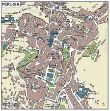 map of perugia perugia vector map eps illustrator map our cartographers