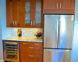 Medium Brown Kitchen Cabinets by Grimslov Ikea Shaker Cabinets In White And Medium Brown