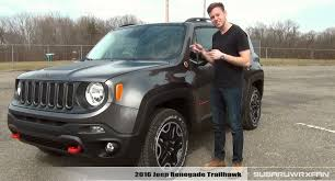 new jeep renegade black review 2016 jeep renegade trailhawk youtube