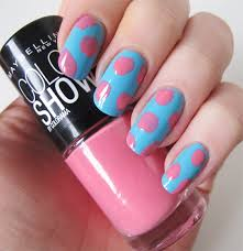 easy peasy nail art coming up roses with maybelline do not