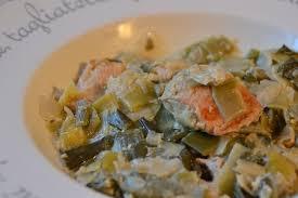 comment cuisiner du saumon surgelé recette cookeo saumon aux poireaux recettes faciles rapides au