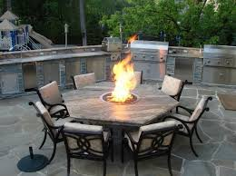 Firepit Patio Table Stunning Costco Outdoor Furniture With Pit With Additional