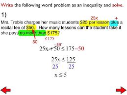 inequalities word problems worksheet free worksheets library