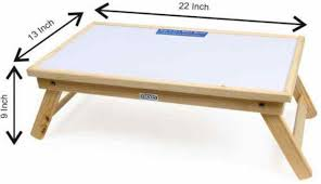 Portable Laptop Desk by Ekta Product Solid Wood Portable Laptop Table Price In India Buy