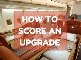 the truth behind how to get a business class upgrade world of