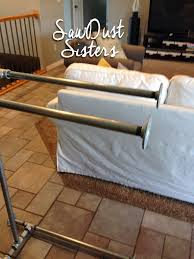 Sofa Table Easy Diy Sofa Table With Pipe Frame Sawdust Sisters