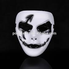 plain mask new plain white color hip hop mask creative