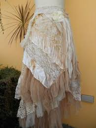 Shabby Chic Skirts by Vintage Layered Lace Skirt By Taramisioux Magnolia Pearl Esque
