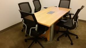 Teknion Conference Table Used Teknion Conference Table 5x2 5 Used Office Furniture