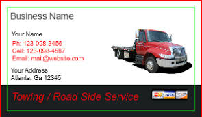 trucking business cards designs best business cards