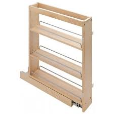 Pull Out Cabinet Pull Out Spice Rack Base Cabinet Insert