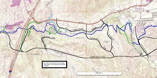 San Diego County Map San Diego Sea To Sea Trail Maps