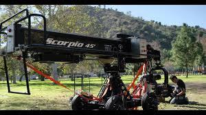 scorpio crane workshop at new york film academy youtube