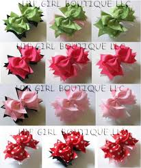 different types of hair bows different hair bow tutorials foto