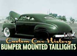 custom car tail lights bumper mounted taillights custom car chroniclecustom car chronicle