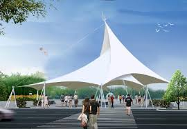 Tent Building Membrane Tension Structure Building Elements Tents And Tensile