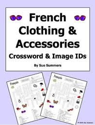 19 best worksheets les vetements images on pinterest french