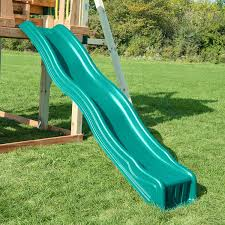 cool wave slide green toys games image on stunning outdoor slides