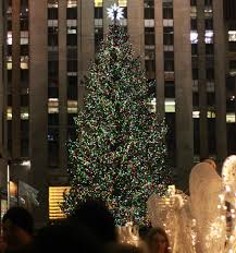 When Do They Light The Tree In Nyc Christmas Christmas Tree Rockefeller Extraordinary Picture