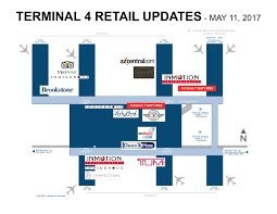 Phoenix Airport Terminal Map by Coming Soon Sky Harbor U0027s 1st Medical Clinic Brookstone Lucky