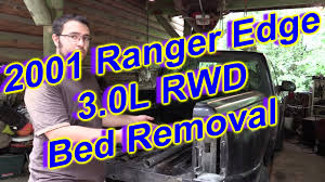 Ford Ranger Truck Frames - ford ranger bed removal quick explanation youtube