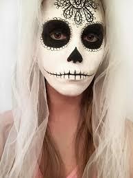 sugar skull halloween makeup erica u0027s diy work sugar skull face