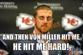 Von Miller Memes - 22 meme internet and then von miller hit me he hit me hard