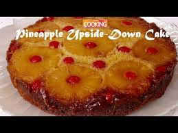pineapple upside down cake ventuno home cooking youtube