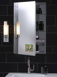 furniture minimalist rectangle laminated glass white mirror