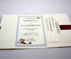 Wedding Invitations With Pockets Pocketfold Wedding Invitations Marialonghi Com