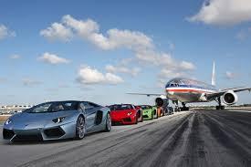 lamborghini aventador drop top lamborghini aventador roadster takes runway at miami airport