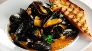 Seafood Recipes For Entertaining Martha by Steamed Mussels With Wine And Saffron Recipe Martha Stewart