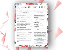Resume Templates With Cover Letter 9 Best Annabel Sotherby Beautiful Resume Template Images On