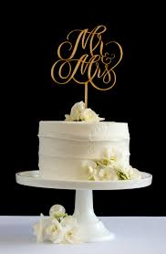 mrs mrs cake topper mr mrs cake topper by honey crisp