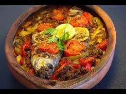 jeux de cuisine marocaine recette marocaine de poisson au four moroccan baked fish recipe