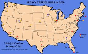 Charlotte Nc Airport Map Us Map Airport Hubs Us Free Download Images World Maps Smf