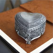 box cincin new vintage klasik ukiran heart box cincin kecantikan pengantin