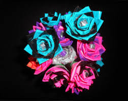 Duct Tape Flowers Vases And Pens Duct Tape Pens Etsy