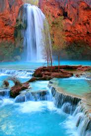 Arizona waterfalls images Waterfalls near grand canyon havasu falls near the grand canyon jpg