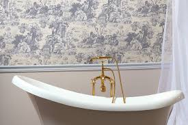 wallpaper bathroom ideas bathroom wallpaper ideas discoverskylark com